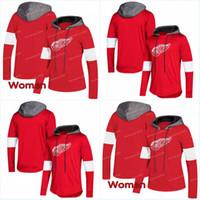 Wholesale bernier jersey resale online - Detroit Red Wings AD Hoodies Jerseys Men Women Andreas Athanasiou DylanLarkin Jonathan Bernier Hoodies Jerseys Sweatshirts
