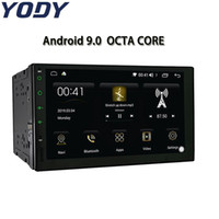 Wholesale android 4.2 tv for sale - Group buy YODY DIN Car Stereo Android Octa Core quot Touch screen Radio GPS Navigation Bluetooth Wifi AM FM RDS Mirror Link car dvd
