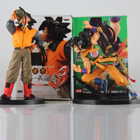 modelo de bola de água venda por atacado-Dragon Ball Z Action Figure água potável Son Goku Yamcha Scultures Big PVC Action Figure Modelo Toy Boneca MX191105