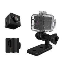Wholesale mini outdoor waterproof action camera for sale - Group buy SQ12 HD P Mini Camera Night Vision Mini Camcorder Sport Outdoor DV Voice Video Recorder Action Waterproof Camera