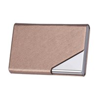 имена кошельков оптовых-New Mini Box Pocket Wallet Business Name ID  Case Holder waterproof document case porte carte bancaire