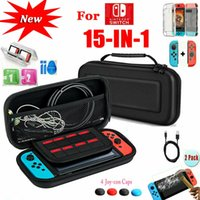 Wholesale nintendo covers resale online - Suitable for Nintendo Switch travel carrying case storage bag box cover charging cable protector accessories