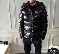 jaqueta de designer unissex venda por atacado-2019 Designer dos homens da marca anorak jaqueta de Inverno de Alta Qualidade popular Jaqueta de Inverno Quente Plus Size Homem Para Baixo Unisex Inverno quente Casaco outwear