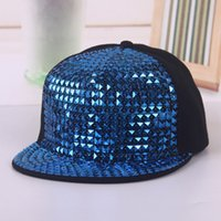 Wholesale baseball caps rhinestones resale online - New Design Rhinestone Baseball Hat Outdoor Sunshade Cap Soft Blending Hats Casual Hip Hop Caps Fashion Adjustable Bling color