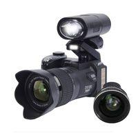 Wholesale electronic tripod resale online - 2019 PROTAX D7300 digital cameras MP Professional DSLR cameras X Optical Zoom Telephotos X Wide Angle Lens LED Spotlight Tripod