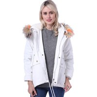 Wholesale women thick hooded parka resale online - Women Down Jackets Winter ss Thick Warm Hooded Wool Casual Loose Parkas Coats