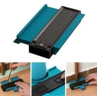 medidores de madeira venda por atacado-Plastic Perfil Cópia Medidor de Contorno calibre Duplicator Padrão 5
