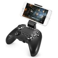 игровой контроллер ipega оптовых-IPEGA Беспроводной Bluetooth джойстик геймпад игровой контроллер сенсорная панель мыши для Android PUBG Tablet PC смартфон PG-9069 BA