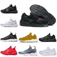 Wholesale black huarache for sale - Group buy 2019 Huarache Classical Triple White Black red Running Shoes for mens womens Huaraches sports Sneaker trainers size