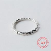 ingrosso anello di prezzo d'argento della porcellana 925-Prezzo di fabbrica 100% argento sterling 925 moda minimalismo stelo bolo anello aperto gioielleria raffinata per gioielli femminili in argento Cina