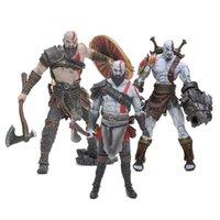 kratos gott kriegsfigur großhandel-Spielzeug NECA Spielzeug GOD OF WAR 4 3 Spiel Heros Kratos Ghost of Sparta Aktion Figuren 18cm PVC-Puppe