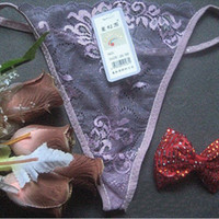 3000pcs Newest Women Lace Transparent Panties Lady Fashion Tangas G-Strings Thongs Underwear T-pants Lingerie Panties RRA2271