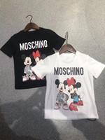 tshirts enfants achat en gros de-vêtements de bébé garçon vêtements de fille de designer vêtements pour enfants mode t-shirts à manches courtes t-shirts pour enfants T-shirt Designer pour Hommes 6T-16T L146
