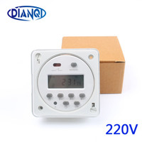 Wholesale programmable digital timers resale online - CN101A AC V V V A TO A Time Switch Relay TIMER A CN101 Digital LCD Power weekly Programmable with protective cover