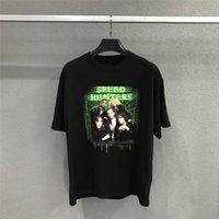 bant tişörtler toptan satış-Boy Bant 19FW HIZ HUNTERLERI T-shirt Erkek Kadın 1b: 1 Yüksek Kalite En Tee Yaz Tarzı t-shirt