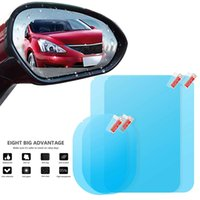 Wholesale anti reflective glasses for sale - Group buy New Car Rearview Mirror Rainproof Film Full Screen Glass Anti Fog Side Window Reflective Mirror Universal Waterproof Film