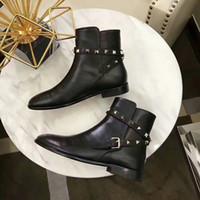 zapatos de mujer botas hasta el muslo al por mayor-La moda de lujo de las mujeres tobillo botines Martin botas nuevas Superstars Marca Womens Australia muslo altos Calcetines Botas # t68ju