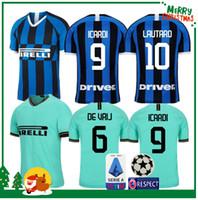 462c9c6f3 19 20 Inter jersey CANDREVA EDER ICARDI JOVETIC Milan home Kondogbia Jovetic  2019 2020 Icardi sports kids boy kit anniversary shirt