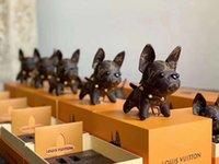 nette schlüsselringentwürfe großhandel-Qualität Schlüsselringe spätester Markendesign netter Schlüsselanhängerart und weisehandtaschenanhänger der französischen Bulldogge geben Anlieferung frei