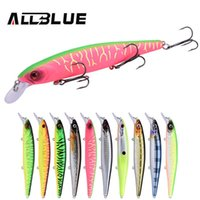Wholesale best fishing tackles for sale - Group buy ALLBLUE KRAKEN SP Best Quality Fishing Wobbler g mm Suspend Minnow Pike Bass Fishing Lures peche isca artificial Tackle T191017