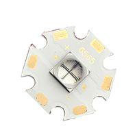 lampe de poche led cuivre achat en gros de-6565 UV a mené la lumière noire de perles de poche entretien de rayon ultraviolet vertical de luminescence de maintenance rayon 20mm avec le substrat de cuivre de panneau de