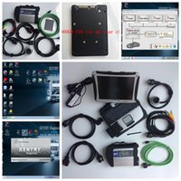 Wholesale das xentry laptop for sale - 2018 Latest soft ware Xentry DTS Monaco Vediamo DAS EPC HHT With Toughbook P anasonic CF19 laptop Perfect fit for MB Star C4