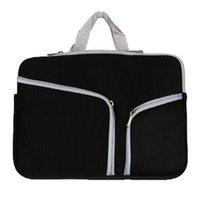 airbag lagerung großhandel-Slim Laptop Schutzhülle Zipper-Beutel-Hülsen-Beutel-Handtasche für MacBook Air Pro Retina 12 13 15-Zoll-Speicher-Beutel-reisende Beutel Durable