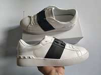 Wholesale shoe buckles for sale for sale - Group buy Best Selling Fashion Men Women Luxury Designer Shoes Open Black bandage Classic Real Leather Casual Brand shoes designer size for sale