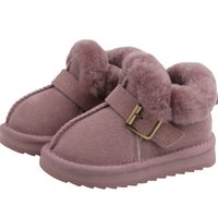 Wholesale year baby boy shoe winter resale online - Baby snow boots soft bottom thick warm shoes years old boys and girls cotton shoes non slip winter