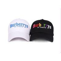 ingrosso cappello coreano nero-Cappelli Ball Cap Letters Baseball Coreano del tempo libero con colori Black Unisex Hater Snapback