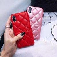 telefonabdeckung mädchen groihandel-Mädchen-Marken-Taschen-Frauen-Entwerfer-Telefon-Kasten-Luxuxabdeckung für IPhone XSMAX XR X XS 6 7 8 Plus Leder