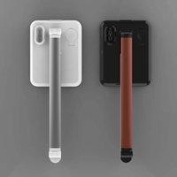 aufladung telefonständer großhandel-4 in 1 Faltbarer Led Wireless Smart Phone Stand Sehen Sie AirPods Wireless Charging