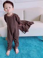 tejer ropa de bebé al por mayor-Nuevo estilo de invierno Baby Girl Boy Algodón de punto Monos mono infantil 3-24 M para ropa Ropa Bebe