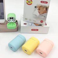 Wholesale waterproof ear headphones resale online - S9mini TWS Wireless Bluetooth headset macaron candy color mini headphones Waterproof Sports HIFI stereo Touch control Earbuds