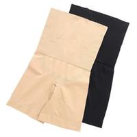postpartum şekillendirici iç giyim toptan satış-Kadınlar Yüksek Bel Zayıflama Karın Kontrol Boxer Külot Güvenlik Pantolon Doğum Shapewear Dikişsiz Iç Çamaşırı Vücut Şekillendirici Kız Korse A32602
