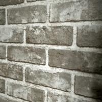 papel de parede de borboleta para desenhos de paredes venda por atacado-3D PVC estereoscópico Em Relevo Pedra Tijolo Papel De Parede Do Vintage Estilo Chinês Sala de estar Cozinha Restaurante Wall Decor Wallpaper 3 D