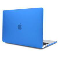 macbook pro a1398 toptan satış-MacBook Pro 15 inç Retina kılıf A1707 / A1990 2018 2017 2016 Yayın A1398 Sert mat Tam Vücut laptop Case Kabuk Kapak