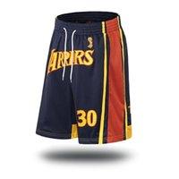 männer kurze hosen trend großhandel-Basketball Hosen Herren Shorts Basketball Training Schnelltrocknend Atmungsaktiv Fünf Hosen Trend