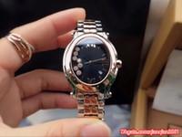grandes relojes de cuarzo diamante acero inoxidable al por mayor-Big Diamond Bezel Best-selling Promoción Barato Cuarzo 30 MM Caso Moda Nueva Marca Mujeres Reloj Reloj de pulsera de Acero Inoxidable dama Relojes