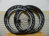 Wholesale carbon bicycle wheels sales resale online - Zipp For Sale Full Carbon Road Bike wheelset C Bicycle wheels mm k glossy Carbon Cycling Wheels A1