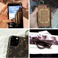 funda transparente para samsung s5 mini al por mayor-Caja del teléfono de moda para IPhoneX Xs XSmax XR X 7 / 8plus 7/8 6/6 / iPhone 6s 6SP 11 Pro Max de diseño creativo Casos pulsera de lujo del teléfono