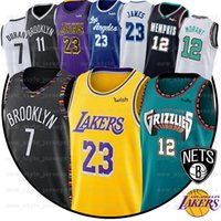 ingrosso pallacanestro jersey durant-LeBron James 23 7 Kevin Durant Jersey del NCAA 3 Davis Ja Morant 12 uomini Kawhi Gioventù Kyrie Irving Anthony cucito College Basketball Maglie