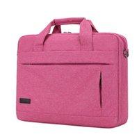 bolso para macbook al por mayor-Litthing gran capacidad bolso portátil para hombre mujer maletín de viaje bolsa de cuaderno de negocios para 14 15 pulgadas Macbook Pro PC