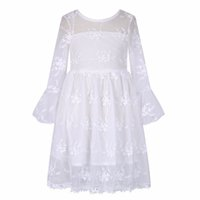 54cd8fe7749 Girls Party and Wedding Dress Kids Costumes 2019 Brand Summer Princess Lace  Dress for Girls Clothes Flower Children Robe Fille