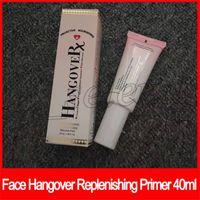 ingrosso primer di fondazione di lunga durata-Face Makeup Hangover HANGOVERX Hangovepx Replenishing Foundation Face Primer Nutriente proattivo Riempimento 40ml Lunga durata di epacket