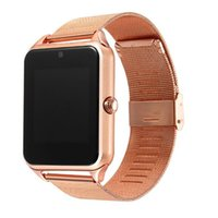 Wholesale watch camera metal for sale - Z60 Smart Watch GT08 Plus Metal Strap Bluetooth Wrist Smartwatch Support Sim TF Card Android IOS Multi languages PK S8 V8 Y1 X7D