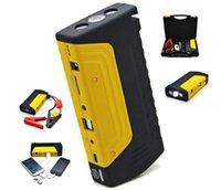 аккумулятор зарядное устройство стартера оптовых-12000mAh высокая мощность автомобиля прыжок стартер 600A 12 в пусковое устройство Power Bank бензин дизель автомобильный аккумулятор бустер зарядное устройство автомобиля стартер LED