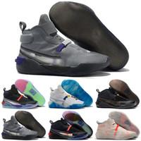ingrosso scarpe da basket arancione grigio-2019 New Kobe AD React Zoom primo bianco nero oro grigio arancione scarpe da basket da uomo di alta qualità scarpe sportive