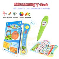 Wholesale pen read books for sale – custom Baby Kids Voiced Ebook Book Early Learning with Reading Pen Toy Kids School Educational Learning Study Toy English