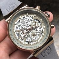 bandas de mano deporte al por mayor-Reloj de lujo para hombre Marca Cuarzo Diseñador TAG Relojes Deportes de moda Segunda mano Automático Material de la banda Seis agujas
